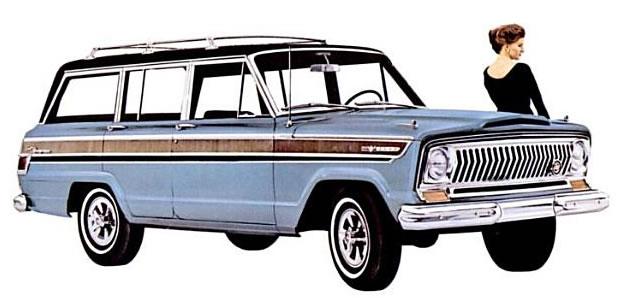 Jubilee Jeeps Wagoneer History