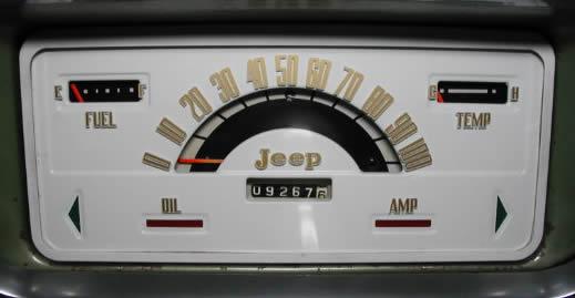 Jubilee Jeeps Fsj Instrument Clusters